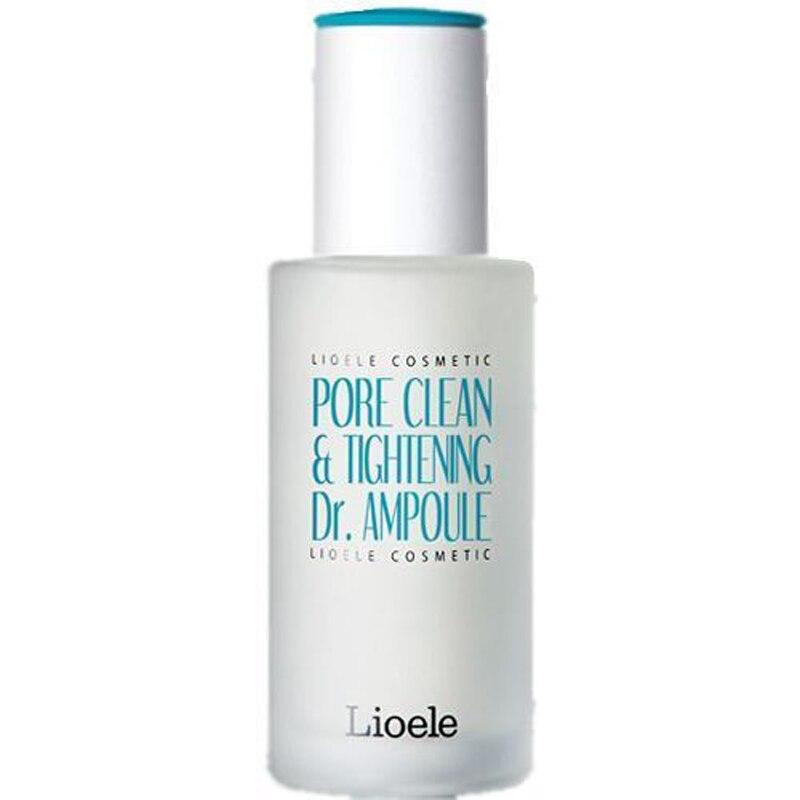 LIOELE Pore Clean & Tightening Dr. Ampoule 35g Facial Serum Blackhead Remover Sebum Acne Pore Cleaner Face Cream Korean Cosmetic