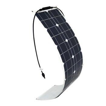 50w Solar Panel Monocrystalline Cilicon Cell Module DIY  2