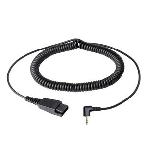 Image 1 - VoiceJoy 2.5mm Headset adapter Quick Disconnect to 2.5mm jack cord ,Compatible with GN headsets