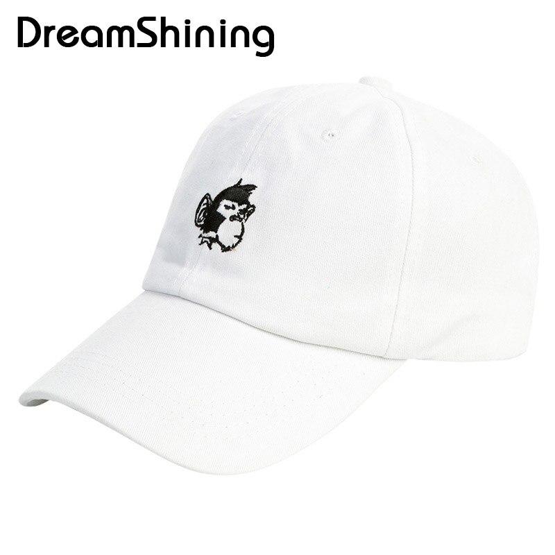 ᐂCasual gorra de béisbol hombres genuinos deportes patrón del mono ...