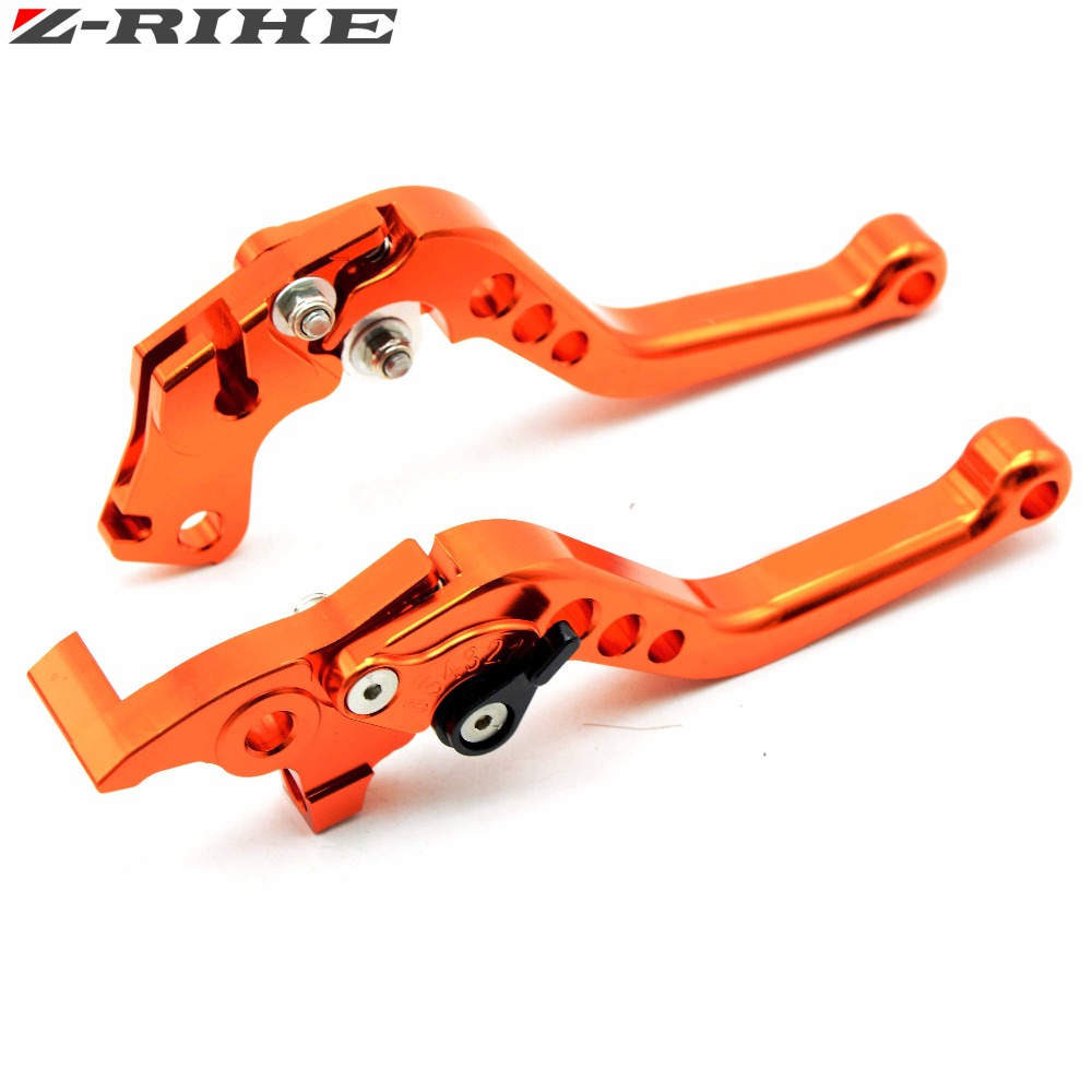 Motorcycle Brake Levers adjustable Folding Bike extensible CNC Clutch Levers For KTM 390 Duke/RC390 13-16 200 Duke/RC200 14-15 for ktm duke 125 200 390 2012 2013 2014 2015 motorcycle adjustable folding brake clutch levers handlebar hand grips