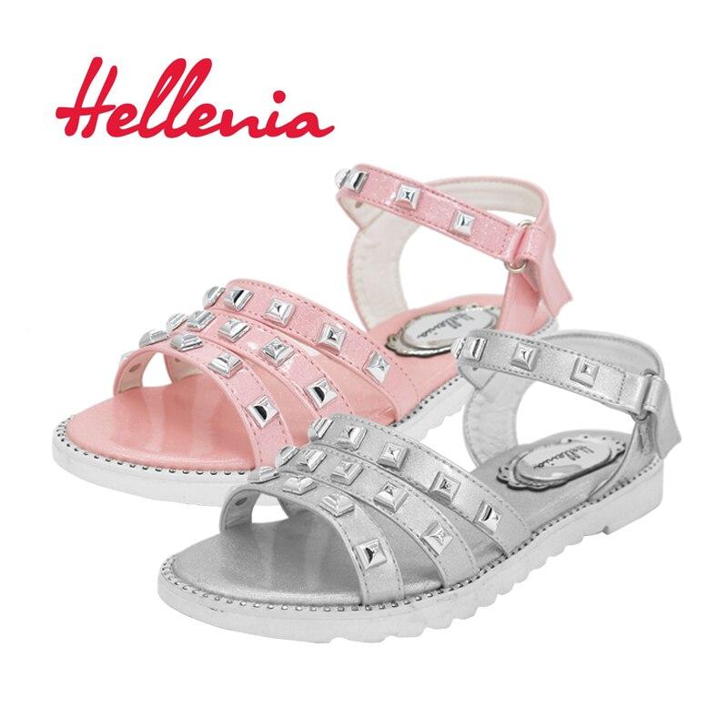 Helleniagirls Sandalen Zomer Kinder schoenen Lage hakken Feestjurk - Kinderschoenen - Foto 2