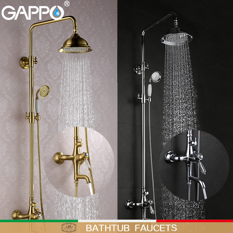 GAPPO Bathtub Faucets Shower Faucets rainfall bath faucets bathroom faucet mixers bath tub mixer torneira do chuveiro