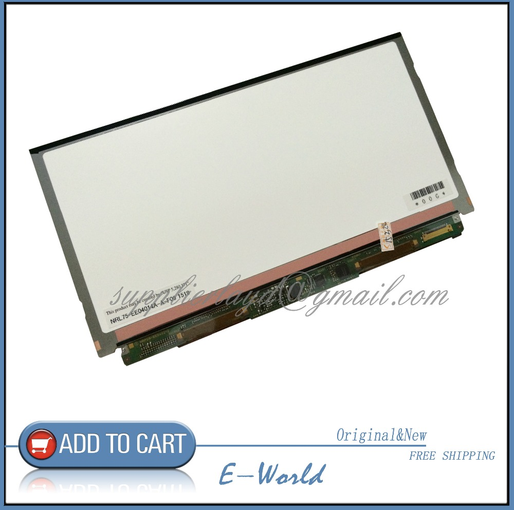 Original and New LCD screen NRL75-EE04014A-A-F09 NRL75-EE04014A-A NRL75-EE04014A NRL75 for tblet pc free shipping it8712f a hxs