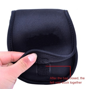 Image 5 - Fishing Bags Spinning Reel Pouch Baitcasting Fishing Reel Bag Protective Case Cover Holder Storage Portable Bag 2 Size M/L