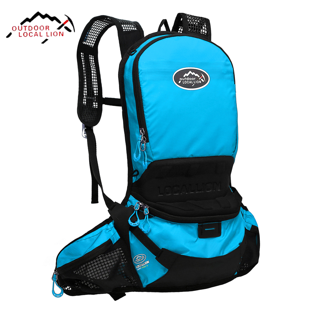 LOCAL LION Cycling Backpack Hydration Waterproof Riding Bike Running Backpack Rucksacks Bicycle Camping Hiking Bag Backpack 25L outdoor professional cycling backpack riding rucksacks bicycle road bag bike knapsack sport camping hiking backpack 25l x185