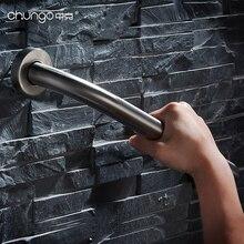 304 нержавеющая сталь Матовый Серебряный поручень(безопасность и аксессуары для ванной комнаты безопасная ручка помощи Ванна туалетный поручень HY-20-651