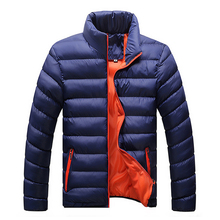 Winter Jacket Men 2016 New Spring Men's Cotton Blend  Mens Jacket And Coats Casual Thick Fashion For Men Plus Clothing Male 4XL