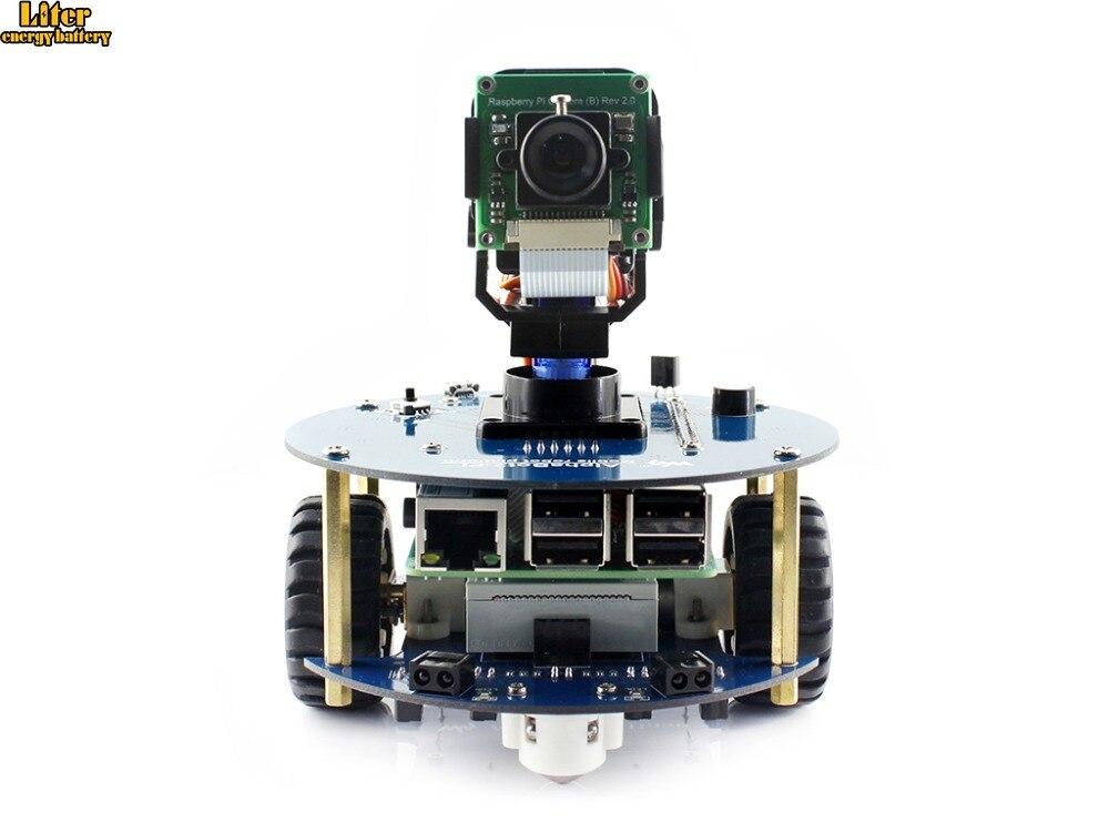 AlphaBot2 robot building kit: 2018 new original Raspberry Pi 3 Model B+,RPi Camera (B)+Micro SD Card card+15 AccAlphaBot2 robot building kit: 2018 new original Raspberry Pi 3 Model B+,RPi Camera (B)+Micro SD Card card+15 Acc