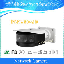 Free Shipping NEW Product DAHUA 4x2MP Multi-Sensor Panoramic Network IR Bullet Camera Without Logo IPC-PFW8800-A180