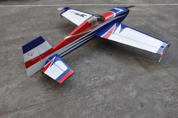 EXTRA 300 Carbon Fiber Landing Gear 50CC Essence de contrôle radio avion Accessoires