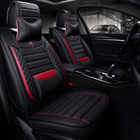 SEEONKA New arrival Microfiber leather Striped car seat covers universal fit cushion on the car seat automobile accessories 1609