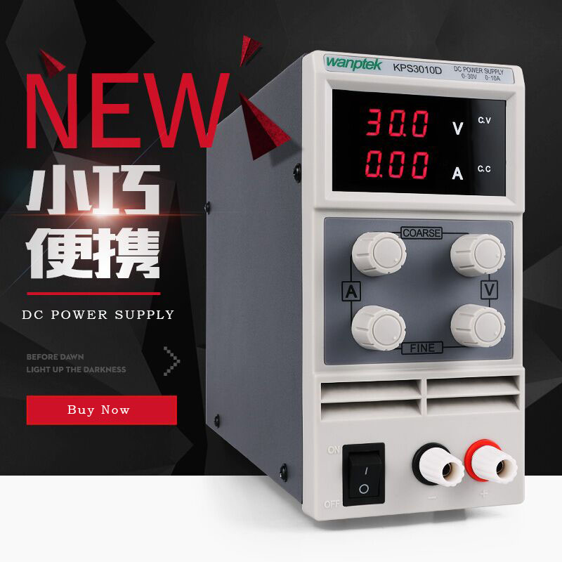 Wanptek dc power supply KPS305D 30V 5A Transformers Variable Adjustable dc switching Power Supply Digital Regulated TransformerWanptek dc power supply KPS305D 30V 5A Transformers Variable Adjustable dc switching Power Supply Digital Regulated Transformer
