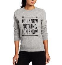 Jon Snow Women Sweatshirts Game of Thrones Clothes