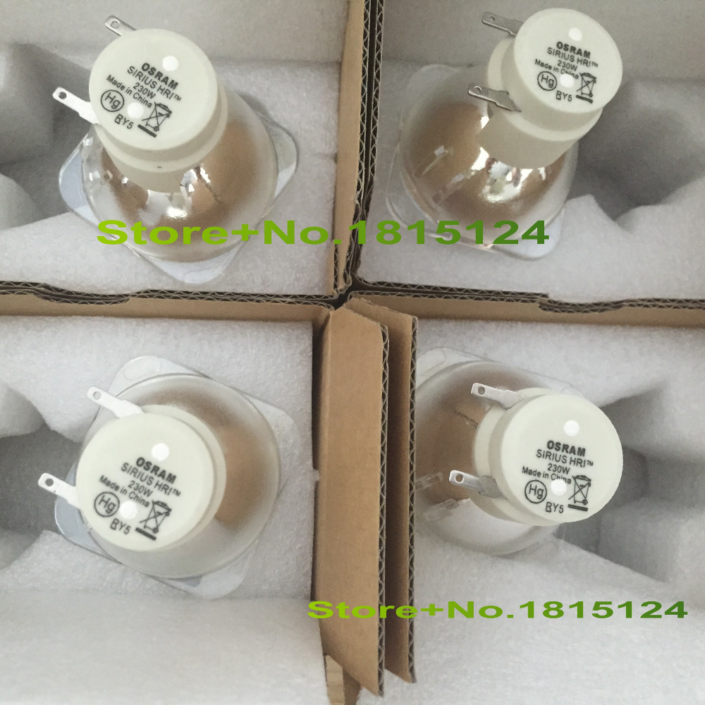 NEW FIT 4pc/lot 230W Lamp FIT SIRIUS HRI 230W Moving head beam light bulb  Compatible with MSD 7R Platinum Sharpy 7R lamp