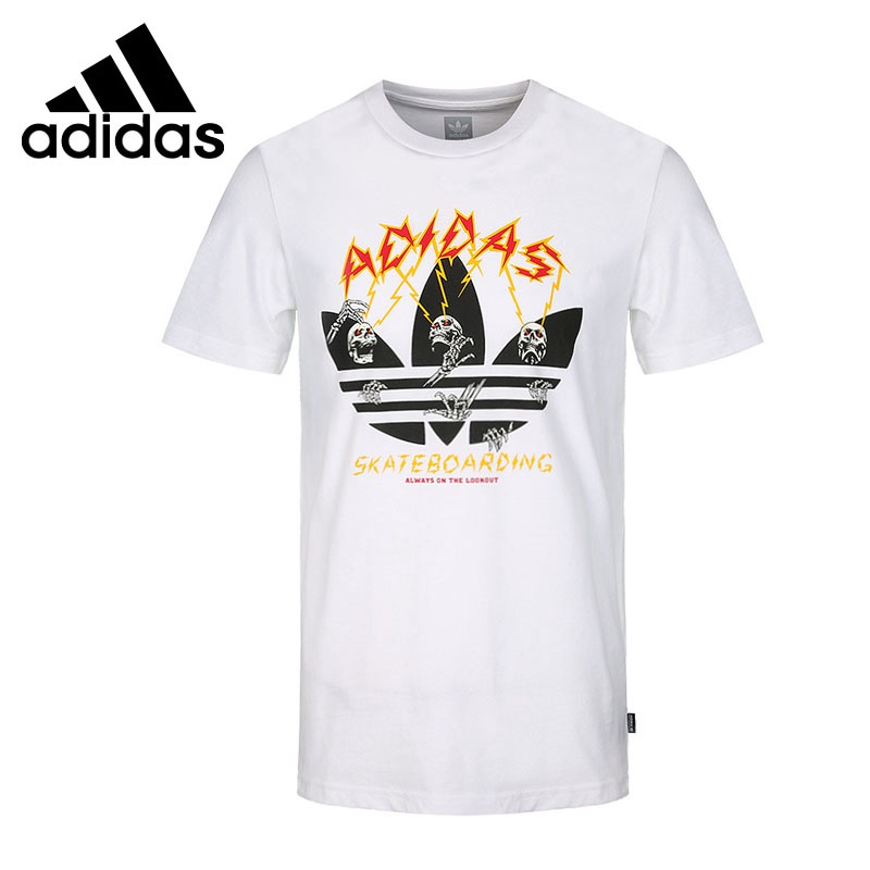 Original New Arrival 2018 Adidas Originals SHOCK TEE Men's T-shirts short sleeve Sportswear original new arrival 2017 adidas neo label m sw tee men s t shirts short sleeve sportswear