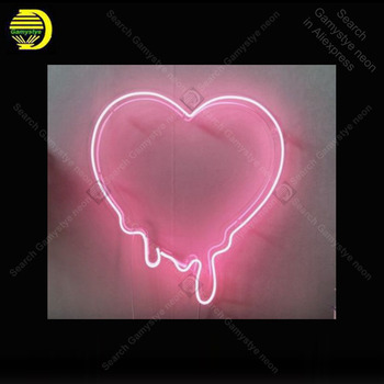 Neon light Signs Make My Heart Melt Neon Bulb sign Lamp Handcraft Bedroom PUB Store display neon Letrero Neons enseigne lumine