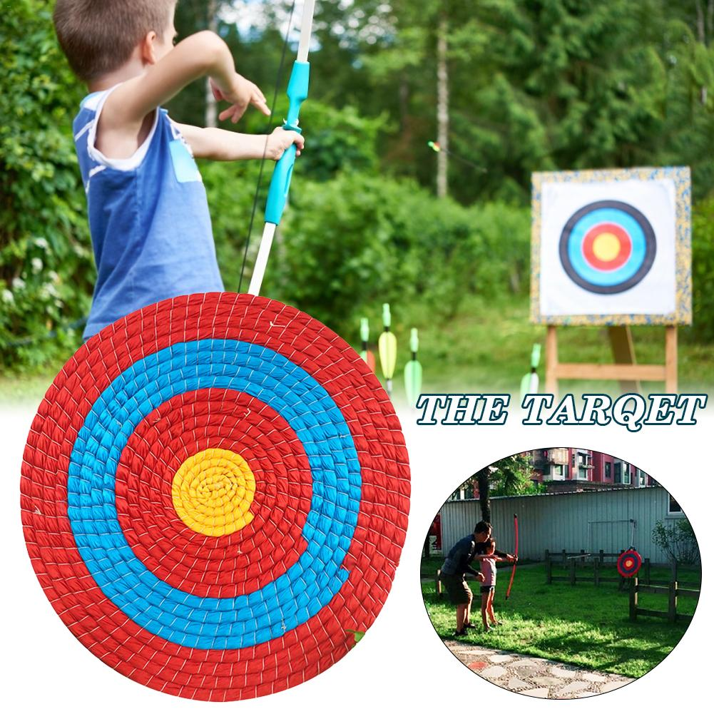 50cm Outdoor Sports Archery Shooting Bow Straw Arrow Target Single Layer Traditional Shooting Hunting Practice