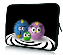 "Fuzzy Family  10"" Laptop Sleeve Bag Case Cover For 10.2"" Flytouch 3 SUPERPAD 2 Tablet PC New Netbook"