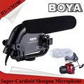 5PCS BOYA BY-VM190 Stereo Shotgun Microphone w/ Windshield for Canon Nikon Pentax DSLR Camera