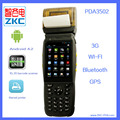 All-in-One Android Handheld Device With Barcode Reader,  Barcode Label Printing Device