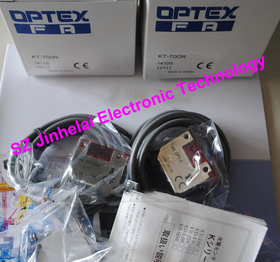 New and original KT-700N OPTEX PHOTOELECTRIC SWITCH  Photoelectric sensor  NPN output new and original zr 350n optex photoelectric switch photoelectric sensor