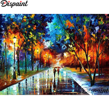 Dispaint Full Square/Round Drill 5D DIY Diamond Painting Colored oil painting3D Embroidery Cross Stitch Home Decor Gift A12367