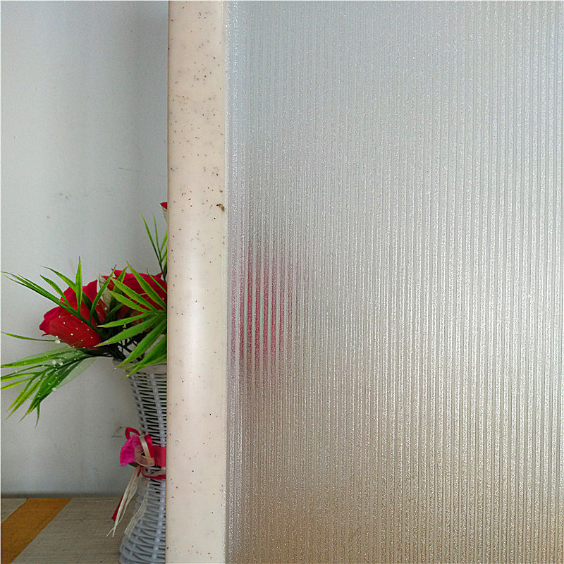 2018 latest diamond stripe glass decorative window film; living room bedroom without glue static privacy stickers free shipping