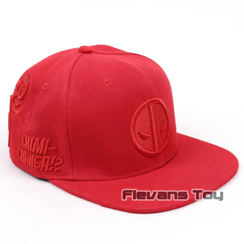 583c94837 Summer Fashion Men Baseball Caps Marvel X-MEN Deadpool Snapback Caps  Adjustable Hip Hop Cap