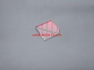 Image 1 - DLP lampa projektora obudowa okna, szkło, ochrona przed promieniowaniem UV/IR obiektyw 24x25x2mm 24*25*2mm 24x25 x 2mm do projektora OPTOMA HD26 HD141X HD20 żarówka jak