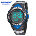 2016 New Pasnew Brand Multifunction LED Waterproof Swim Accurate Business Men Outdoor Sport Digital Watch Watches Large Numbers