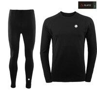 2019 New Winter Men Thermal Underwear Sets Elastic Warm Fleece Long Johns for Men Polartec Breathable Thermo Underwear Suits