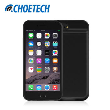 CHOETECH Battery Charger Case For iPhone 7  6  6S 4.7 inch 2850mAh Portable Power Bank External Pack Backup Case for iPhone 6 iPhone 8