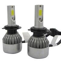 2PCS 10000LM 55W H7 Led Headlight Bulb Conversion Light Super Bright White H7 Light Kit Automobile