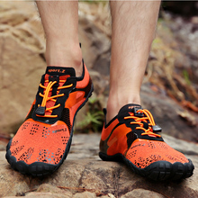 2019 New Summer 35-47 Outdoor Men Hiking Shoes Mountain Shoes Trekking Shoes Women Wading Quick Dry Upstream Shoes Breathable цена