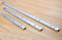 Aluminium Alloy Miter Gauge Rod Miter Slider Bar Length 300mm 450mm 650mm Woodworking DIY Tools