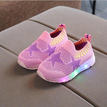 New Autumn Spring Led Casual Shoes Children's Shoes