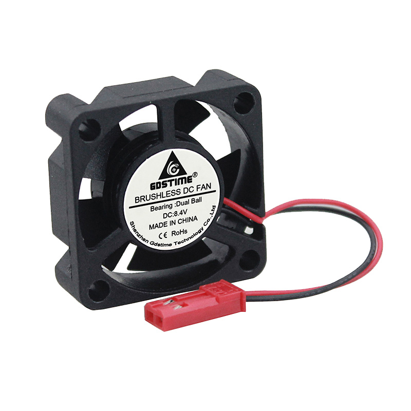 8.4V Ball Bearing 3cm 30mm 30x10mm RC Model Cars Motor DC Computer Cooling Fan