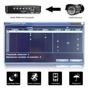 Image 3 - Камера Наружного видеонаблюдения Hiseeu, аналоговая металлическая камера высокого разрешения, AHDM 1080P AHD CCTV
