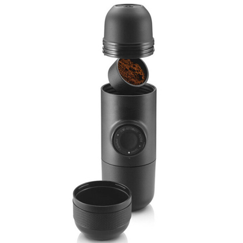 Gater Minipresso Manual Coffee Maker Outdoor Travel Portable Filter Pot Espresso Manually Pressure Mini Machine In Pots From Home