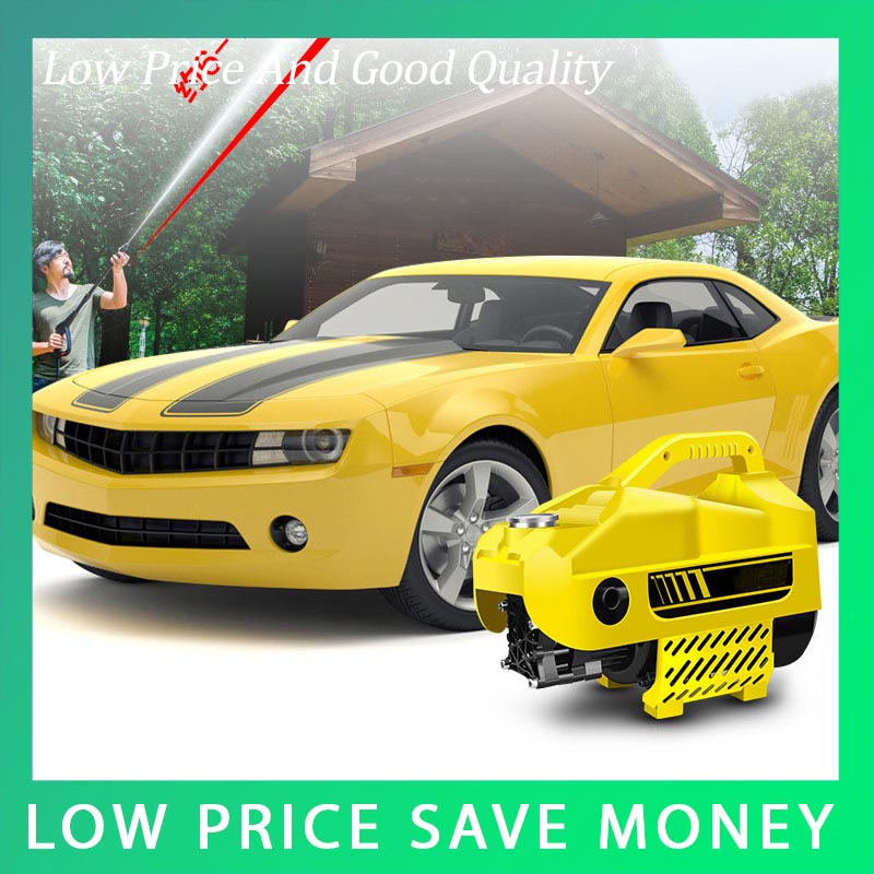 Household Portable High-pressure Car Washing Pump 220V Self Suction Water Pump купить