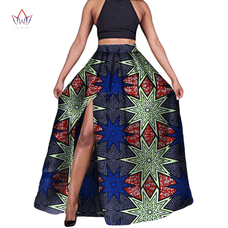 African Print Fashion: 2018 Fashion African Fabric Print Skirts For Women Dashiki
