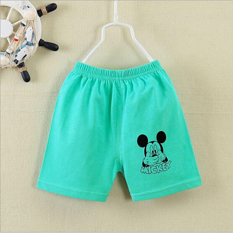 új baba rövid nadrág 0-3T baba nyár tiszta pamut nadrág - Bébi ruházat - Fénykép 2
