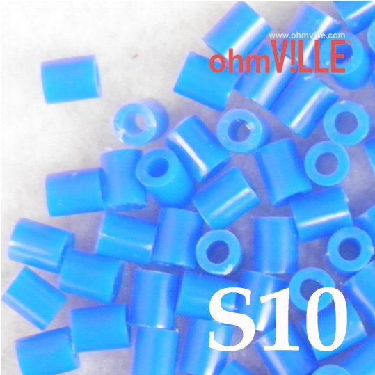 Wow ! USD 2 - 3mm Perler Beads, Fuse Beads (S10)... 26 Different Color Hama Beads,Guaranteed 100% Quality /Green +Free Shipping!