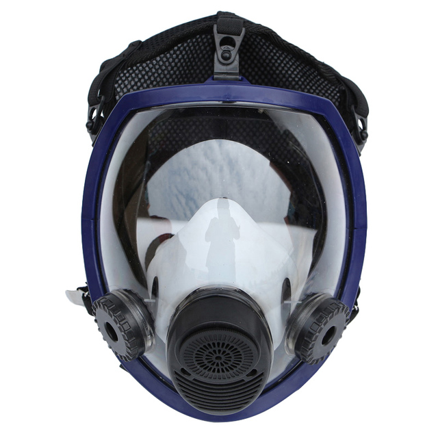 Gas Masks Full Face Respirator Mask 2 In 1 Function Breather