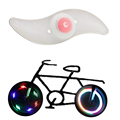 HY 4PCS /Bag Bike Light Hot Bicycle Light Colourful Silicone Bike Spoke Wheel Light Safe Outdoor Bicycle Accessories