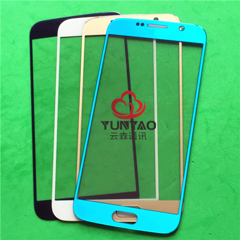 10pcs lot original New Outer LCD Front Screen Glass Lens Cover Replacement Parts For Samsung Galaxy