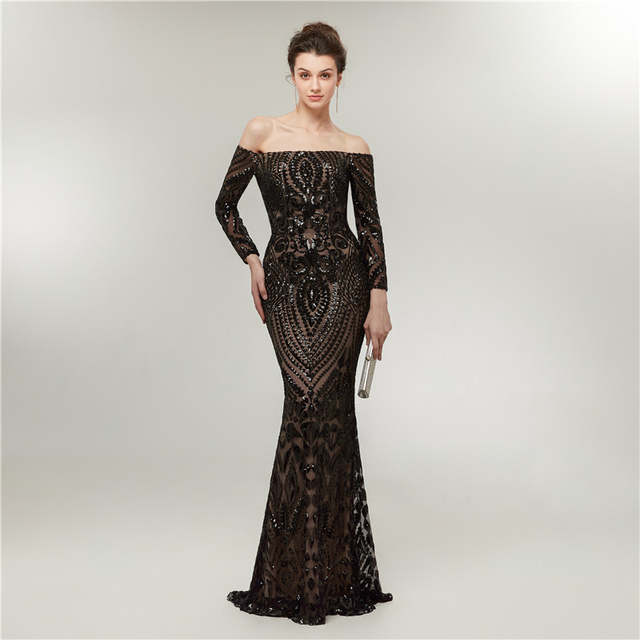 Abiti Da Cerimonia Vintage.Vintage Formal Mermaid Evening Dresses 2020 Abiti Da Cerimonia Da