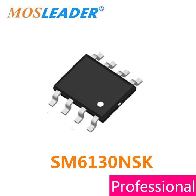 Mosleader SM6130NSK SOP8 100 шт. SM6130 SM6130N SM6130NS N-канал 60 В высокое качество