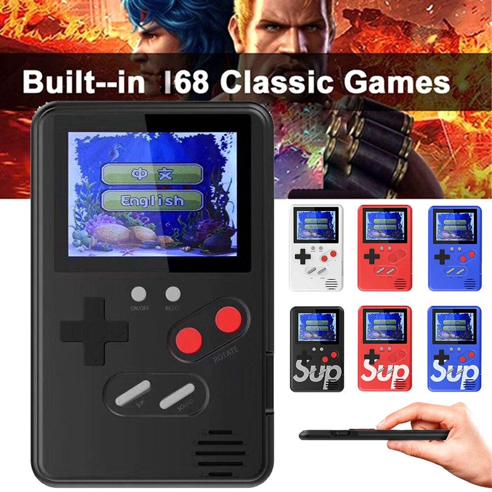 Ultra-thin Color Screen Retro Mini Built-in 168 Games Arcade Game Consoles New Listing Multi-color Ultra-thin Game Consoles